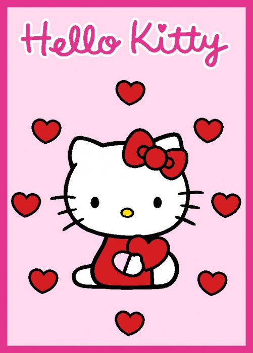 Detský koberec Hello Kitty